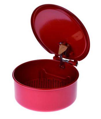 Auswaschschüssel 44/3, Inh. 2,0 ltr. ØxH: 200 x 85 mm, lackiert rot