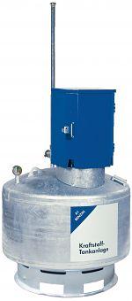 Lagerbehälter für Benzin feuerverzinkt, 400 ltr.