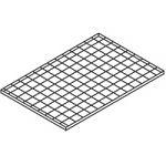 Gitterrostregalboden 1000x750 mm, für Mod. 224+348