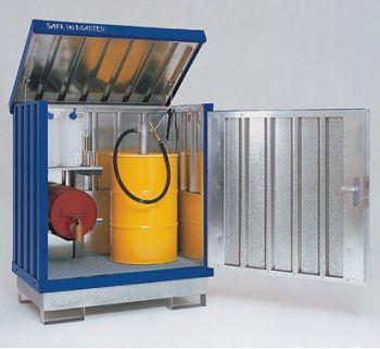 Safemaster Komplett-Set 1 SM 2 lackiert, 2 Regalstützen