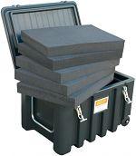 Schaumstoffeinlage zu Werkzeugbox 150 ltr. VE=8 Stck.