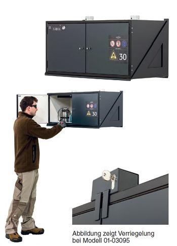 Gefahrstoffbox Typ 30 mit Ver- riegelung BxTxH 995 x 470 x 482 mm