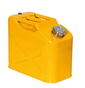 Lager- und Transportkanister 10 Liter UN-Zulassung Stahl lack.