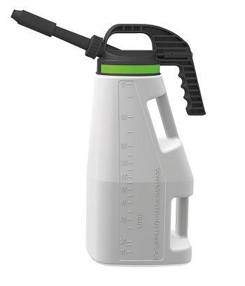 LubriFlex Abfüllkanne PE, 10 Liter mit kurzem/langem Auslauf