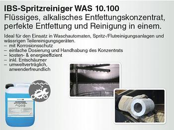 Spritzreiniger WAS 10.100 10 Liter Kanister