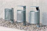 Abfallsammler Station VS H Ständer zum Eingraben 1200 mm