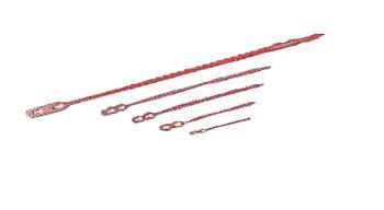 Schnellbinder aus Polyethylen Gr. 2, 140mm lang,VE=1000St.