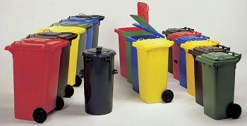 Kunststoffmülltonne 80 ltr. T x B x H 555 x 480 x 945 mm