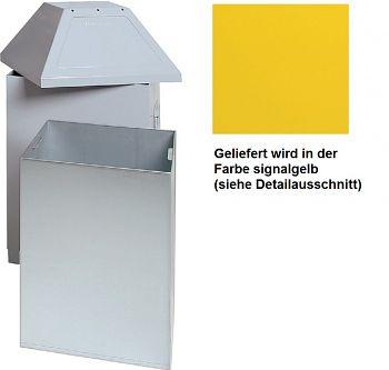 Wertstoffsammelbehälter ABF Mod. 1 HxBxT: 870 x 450 x 450 mm signalgelb