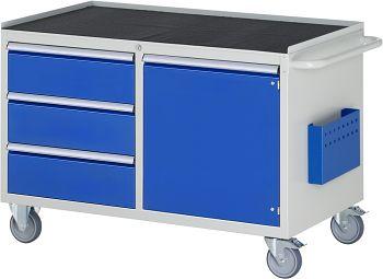 Montagewagen mit Metall-Top B 1145 x T 650 x H 795 mm