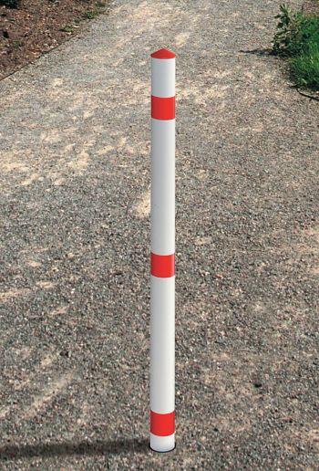 Signal-Sperrpfosten aus Spezialkunststoff, 1200 mm