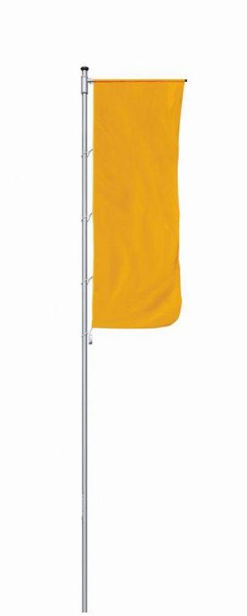 Fahnenmast Typ Prestige mit Ausleger Höhe 7 m, Mast Ø 75 mm