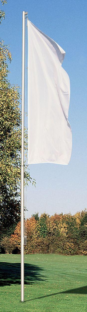 Fahnenmast Typ Sport 2-teilig Höhe über Flur 6 m, Mast Ø 76/60 mm