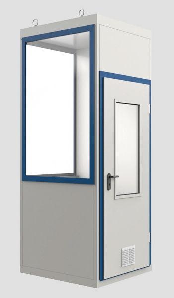 Raumeinheit Mod WI 4 mit Boden für Innenaufstellung, Fläche 1,09 m³