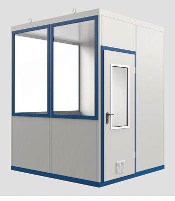 Raumeinheit Mod WI 8 mit Boden für Innenaufstellung, Fläche 4,18 m³