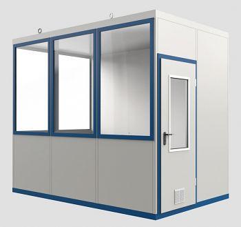 Raumeinheit Mod WI 10 mit Boden für Innenaufstellung, Fläche 6,22 m³