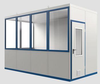 Raumeinheit Mod WI 12b mit Boden für Innenaufstellung, Fläche 8,27 m³