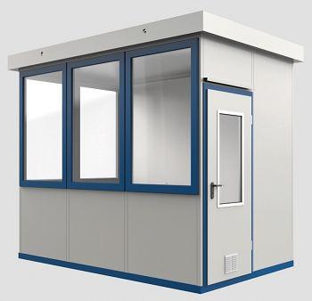 Raumeinheit Mod. Wa 10 für Außenaufstellung, Fläche 6,22 m³