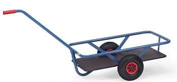 Handwagen mit Boden Ladefläche L x B 700 x 400 mm