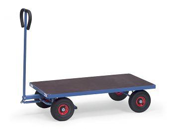 Handwagen mit Plattform Ladefläche 1260 x 700 mm