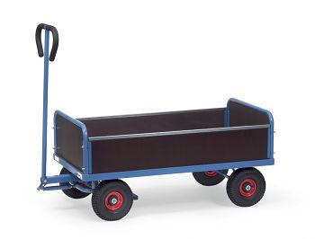Handwagen mit 4 Wänden Ladefläche 1000 x 550 mm