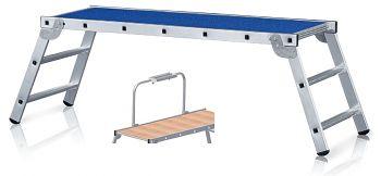 Z 300 Arbeitsplattform, klappbar Belag Holz, Plattformhöhe: 0,70 m