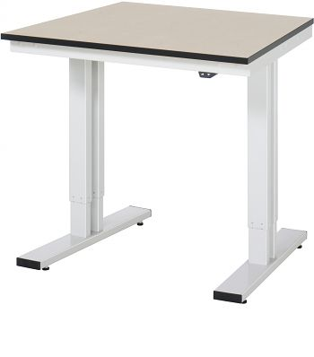 Werktisch Serie adlatus 300 B 750 x T 800 x H 720-1120 mm