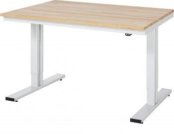 Werktisch Serie adlatus 300 B 1250 x T 1000 x H 720-1120 mm