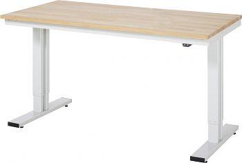 Werktisch Serie adlatus 300 B 1500 x T 800 x H 720-1120 mm
