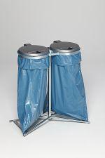 Müllsackständer Standard D verzinkt HxBxT: 980 x 850 x 480 mm