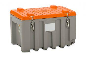 PE-Werkzeugbox  150 Ltr. grau/orange LxBxH 800 x 600 x 530 mm
