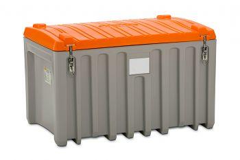PE-Werkzeugbox  400 Ltr. grau/orange LxBxH 1200 x 790 x 750 mm