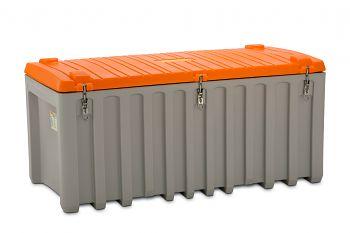 PE-Werkzeugbox  750 Ltr. grau/orange LxBxH 1700 x 840 x 800 mm