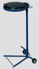 Müllsackständer Kombi, enzianblau HxBxT: 980 x 460 x 500 mm