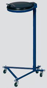Müllsackständer Super, enzianblau HxBxT: 1000 x 530 x 500 mm