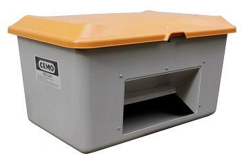 Streugutbehälter Plus3 400 ltr. mit Entnahme und ohne Staplertaschen