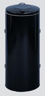 Abfallsammler KompaktDoppeltür anthrazit RAL 7021