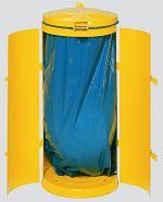 Abfallsammler KompaktDoppeltür gelb RAL 1023