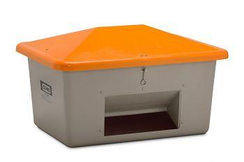 Streugutbehälter V-Plus 550 ltr. mit Entnahmeöffnung