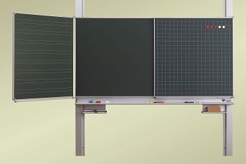 Pylonen-Klappschiebetafel Mittelfläche B 1500 x H 1000mm