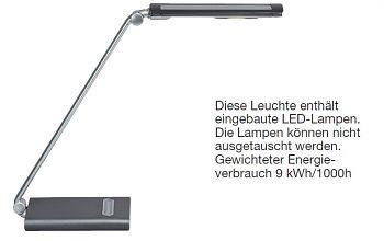 LED-Leuchte, 7-Stufen-Dimmer mit Touchfeld-Bedienung, MAULpure