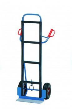 Gerätekarre,Tragkraft 350kg H 1425xB 650,Schaufell. 150mm