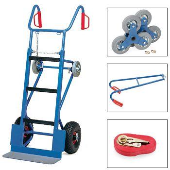 Gerätekarre kompl. mit Luft- rädern,Treppensterne,Trag-