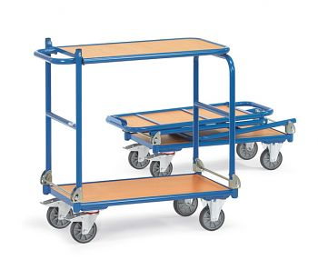 Klappwagen mit Tischplattform Ladefläche 720 x 450 mm