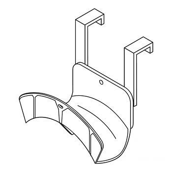 Kabel- und Schlauchaufhängung