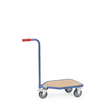 Griffroller mit 3 Räder mit Holzwerkstoffplatte