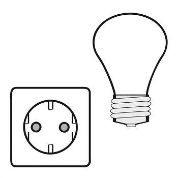 Elektroinstallation n. VDE100 bestehend aus: