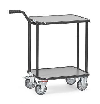 Griffroller mit 4 Räder,Tragkr.250 kg Ladefläche LxB: 600 x 450 mm
