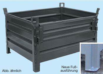 Lagerbehälter ohne Klappe L x B x H 800 x 500 x 500 mm