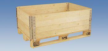 Holz-Aufsatzrahmen, klappbar L 800 x B 1200 x H 200 mm